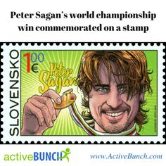 Peter Sagan's world title win commemorated with special stamp in Slovakia. -------------------------------------------- ⬇ Follow @ActiveBunch ⬇ 🏃🏊🚴 💪 🌎 www.ActiveBunch.com 🌎  #cycling #bicycle #cycles #bike #bikes #roadbike #garmin #strava #cyclingphotos #bikelovers #cyclingphotos #cyclinglife #running #ultrarunning #trailrun #skyrunning #marathon #crossfit #spartan #mudrun #fitnesslover #ActiveBunch #ActiveLifestyle