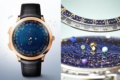 Astronomical Watch Gorgeously Depicts the Real-Time Orbits of Planets. Watch the entire solar system rotate (very slowly) around your wrist. Sistema Solar, Solar System Watch, Astronomical Watch, 3d Video, Look At The Stars, Van Cleef Arpels, Beaded Rings, Jewelry Companies, Astronomy