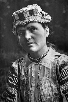 woman in folk costume Folk Costume, Costumes, Album, Beautiful Patterns, Old Photos, Captain Hat, Culture, 7 Continents, Czech Republic