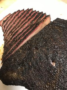 Hey, smoking and grilling is an art too y'know! Brisket, Smoking, Grilling, Meat, Food, Crickets, Essen, Meals, Tobacco Smoking