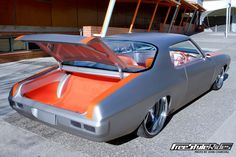 1972 Holden HQ GTS Monaro grey silver orange custom