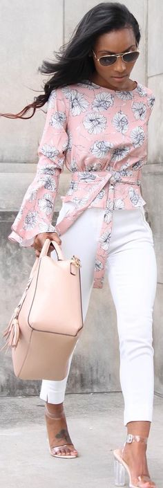 Gorgeous top by @hhhgluxe , @egoofficial  Heels , @hm handbag // Fashion Trend by layllahstyle