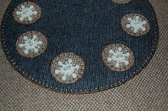 FREE PENNY RUG PATTERN!!!