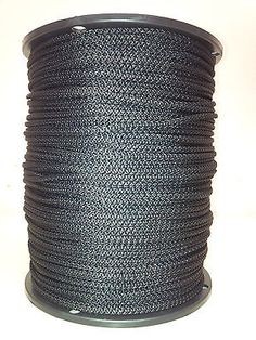 Other Home Building and Hardware 20594: Solid Braid Rope (#6) 3 16 X 1000Ft Black Utility Cord -> BUY IT NOW ONLY: $45 on eBay!