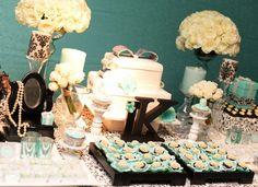 Festa 15 Anos Tiffany e Arabesco #Damask