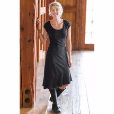 Athleta Crescendo Dress NEW Black Size Small S RARE #Athleta #SkirtsSkortsDresses