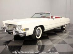 '73 Cadillac Eldorado... can you say boat.
