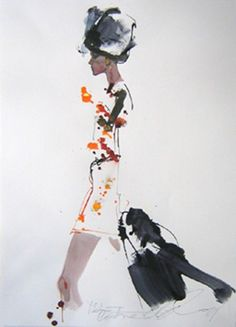 "David Downton Image above is courtesy of: http://www.fashionfoodfatale.com/ "" I think the most important thing is the..."