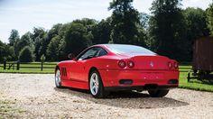 Ferrari 550 Sperimentale 2001