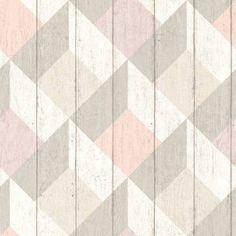 Trendikäs harmaasävyinen tapetti on saanut hurmaavan geometrisen kuvioinnin lisäksi muitakin mielenkiintoisia elementtejä. Tilaa edullisesti Taloon.comista!