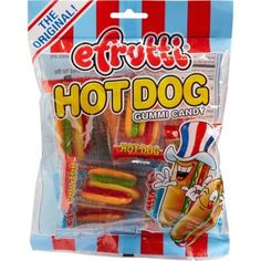 Efruitti Hot Dog Gummi Candy is designed to look like mini hot dogs. If your little one loves hot dogs and gummy candy, they can enjoy both at the same time with these Efrutti Hot Dog Gummi Candy! Candy Recipes, Snack Recipes, Snacks, Gummi Candy, Mini Hot Dogs, Taffy Candy, Sleepover Food, Beautiful Barbie Dolls, The Greatest Showman