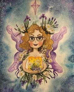Custom watercolor portrait for Watercolor Portraits, Watercolor Paintings, Love Painting, Harry Potter, Wings, Princess Zelda, Fictional Characters, Art, Art Background