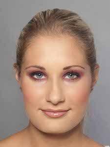 Schminktipps für blaue Augen - Komplementärfarben