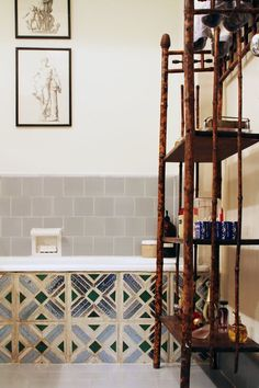 The bathrooms in this post all vary in style, ranging from vintage-inspired to more minimalist modern, and all are beautiful