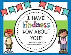 I Have Who Has is a great whole group game to play with your class. In this Bucket Filling game you have 32 kindness.These cards identify various ways to show kindness. It's a great way to review kindness or introduce bucket filling. Depending on your class size some kiddos may have two cards at one time.