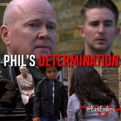 Credit to @eastenders._ : Phil is more determined than ever to get full custody of Raymond! But will he be successful? #EastEnders