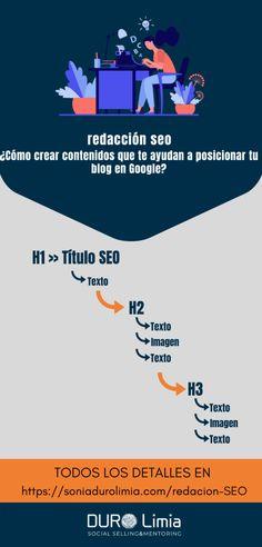 Redacción SEO: Consigue posicionar tu blog en Google Marketing Digital, Seo, Social Media, Google, Movie Posters, Socialism, Texts, World, Executive Summary