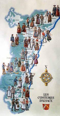 Costumes d'Alsace