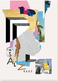 poster-design for Salzhaus Winterthur November 2013 by Comet Substance