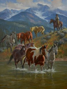 """""""Down from High Country"""". (by Jack Sorenson). For more great pins go to @KaseyBelleFox"""