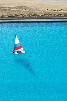 Crystal Lagoon en San Alfonso del Mar, Chile.