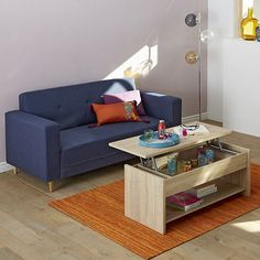 1000 ideas about table basse relevable on pinterest for Table basse tablette relevable