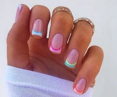 454 kép nails art 💅🏽 témára a We Heart It oldalain | Még valami a nails art, fashion és fashionable témára Bad Nails, Aycrlic Nails, Funky Nails, Hair And Nails, Funky Nail Art, Square Acrylic Nails, Best Acrylic Nails, Summer Acrylic Nails, Summer Nails