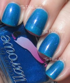 Colors by Llarowe - Paradise Found / ThePolishAholic [Sheer Blue Jelly w/Blue Shimmer]