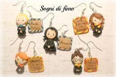 Personaggi Harry Potter in fimo by ~SogniDiFimoCReazioni on deviantART