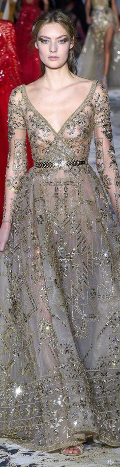 19 Ideas for zuhair murad bridal gold beautiful Zuhair Murad Bridal, Zuhair Murad Dresses, Mermaid Dresses, Dance Dresses, Bridal Dresses, Asian Wedding Dress, Luxury Wedding Dress, Spring Couture, Evening Dresses