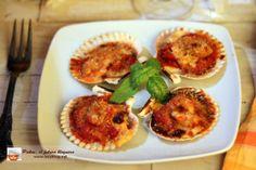 Lazy Blog: Vieiras gratinadas a la parmesana. Recetas navideñas