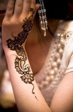 #mehendi #henna #hand #design #pretty #lovely