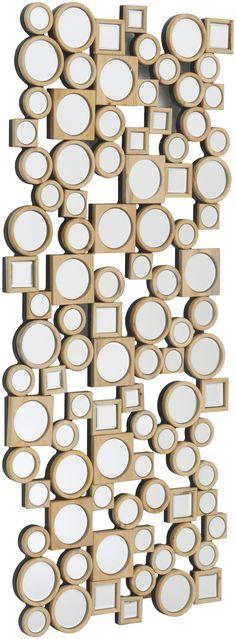 Libra's Lowes Baker Rectangular Wooden Mirror Wall Art - http://www.artisanti.com/lowes-baker-rectangular-wooden-mirror-wall-art-13654-p.asp
