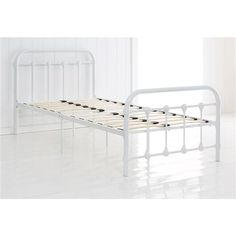 Add a Vintage feel with an antique bed frame. For those on a budget this one from Kmart is gorgeous!