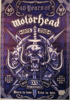 Motorhead-40 Year Anns- 1975-2015
