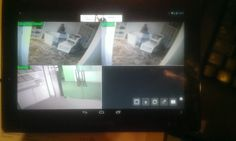 2014 Kunde Videoüberwachungs Installation #Videoüberwachung via #TABLET