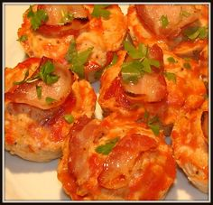 Turkey Meatloaf Muffins with Bacon. This is great if you are a meatloaf lover. Portion control and turkey substitution.