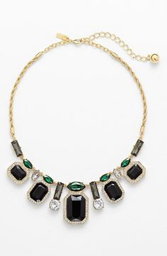 "Kate Spade New York  ""Art Deco "" statement necklace @nordstrom.com"