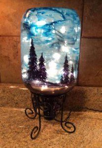 Become Van Gogh and make your own Starry Night with this Night Sky in a Bottle. It's easier than it looks!