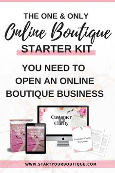 The ultimate beginner's guide for opening an online boutique. If you're wondering how to start an online boutique business then THIS is for you! Baby Boutique, Boutique Clothing, Starting An Online Boutique, Craft Business, Business Tips, Handbags Online Shopping, Online Clothing Boutiques, Starter Kit, How To Introduce Yourself