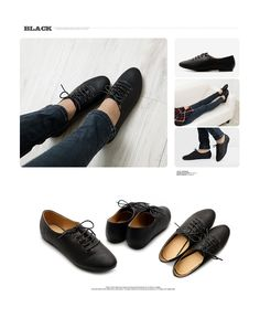 New Womens Shoes Oxfords Ballet Flats Loafers Lace Ups Low Heels Multi Colored   eBay