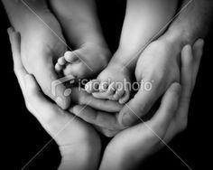 Love this newborn photo idea