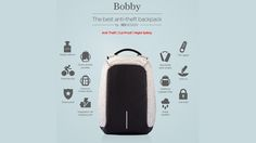 Bobby, the Best Anti Theft backpack by XD Design project video thumbnail
