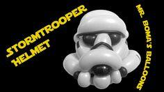 Stormtrooper helmet balloon animal tutorial by Mr. Boma's Balloons.