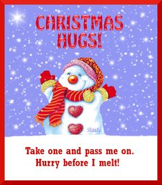 Christmas Hugs Pictures, Photos, and Images for Facebook, Tumblr, Pinterest, and Twitter