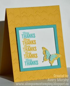 Along Came Stamping: Many Thanks Catalogue CASE #StampinUp #AnotherThankYou
