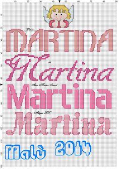 Martina con angioletto