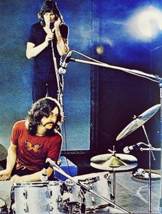 Roger Waters & Nick Mason from Pink Floyd .
