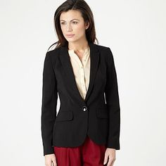essential black jacket