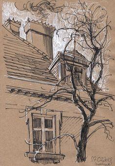 Sketchbook drawing #traveljournals